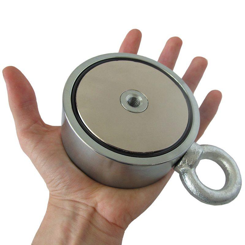Kétoldalas mágnes 500 kg a kézen