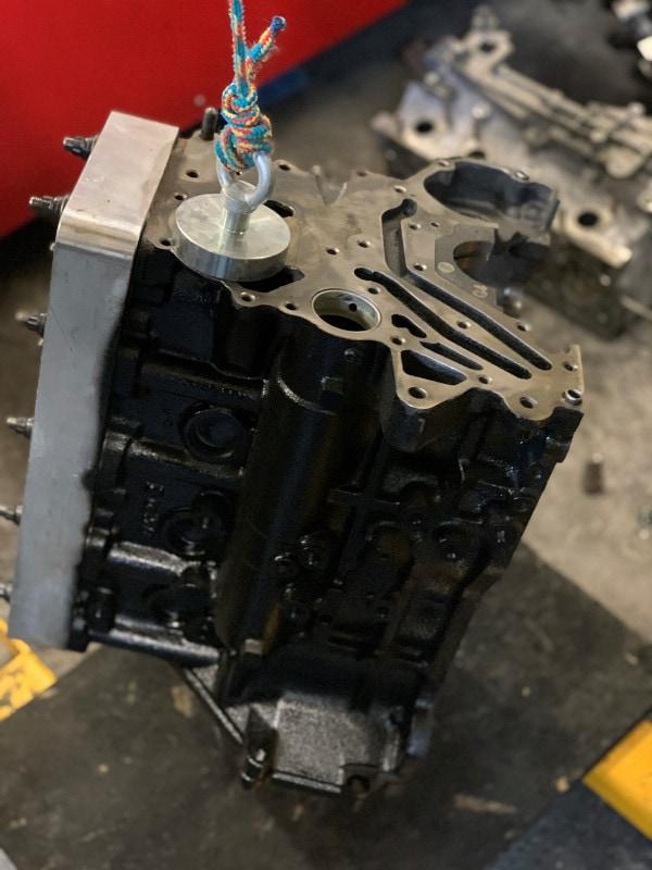 Mitsubishi blokk - mágnes tesztelve!